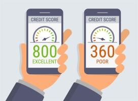 Credit-score monitoring